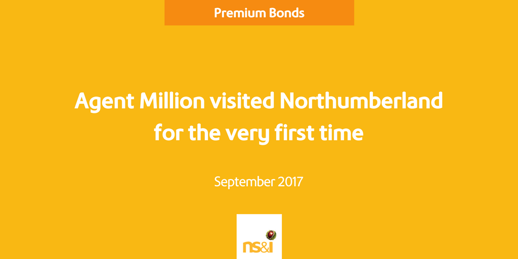 First visit to Northumberland by Agents Million