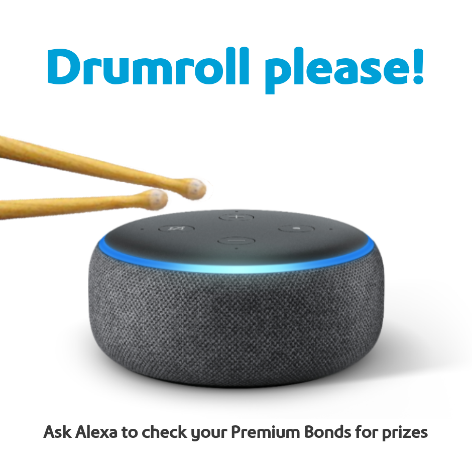 Ask Alexa to check Premium Bonds prizes