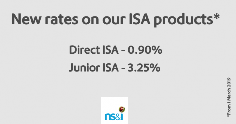 Ns I Increases Interest Rates On Isa Products Ns I Corporate Site
