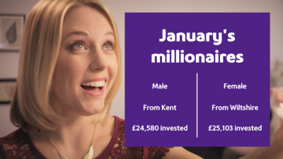 Agent Million brings New Year joy to Kent and Wiltshire
