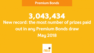 Third Premium Bonds jackpot win for Wiltshire in 2018, while Barnet strikes it lucky for the first time in eight years