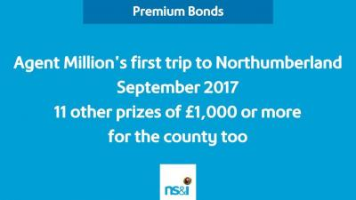 Breaking new ground: Northumberland man is first Premium Bonds £1 million jackpot winner from the county; winner in Nottingham is city's sixth