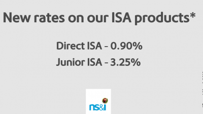 NS&I increases interest rates on ISA products